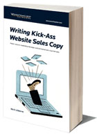 writing website sales copy