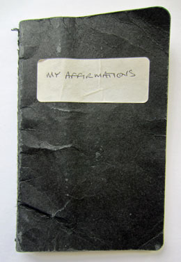 my affirmations notebook